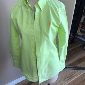 Ralph Lauren lime cotton shirt